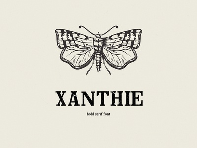 Xanthie Free Serif Font