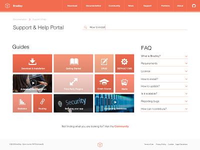 092 FAQ | 100 Days of UI Design support help faq web design uidesign dailyui