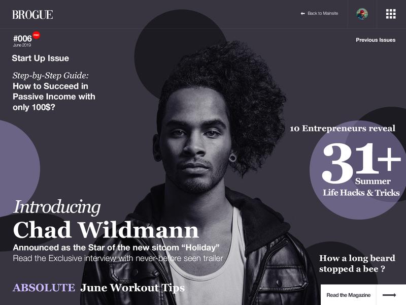 094 News   100 Days of UI Design cover magazine web design uidesign dailyui