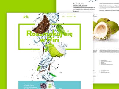 Acqua di Cocco website