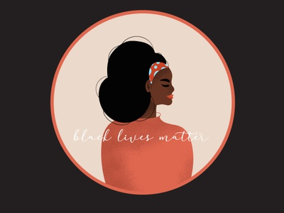 black lives matter girl art design black lives matter blacklivesmatter digital illustration drawing illustration