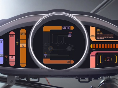 Volvo The Next Generation volvo dashboard star trek lcars