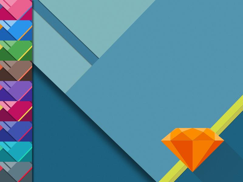 Material Design Wallpaper [Free .Sketch Template] material design google lollipop desktop sketch free
