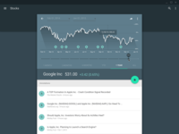 Material Design Charts