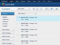 Joomla 3.0 Concept