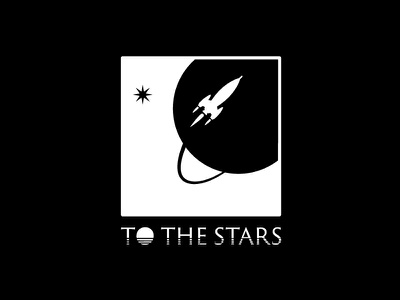 To The Stars tom delonge angles and airwaves blink-182 blink stars space spaceship rocket planet vector logo