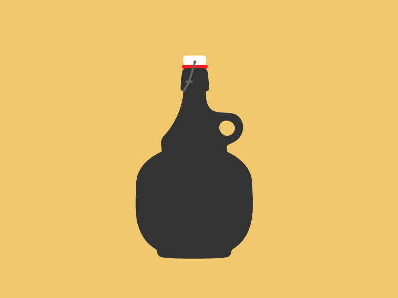 growler by alex policastro dribbble dribbble