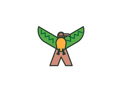 Xantus letter animal alphabet animal bird xantus