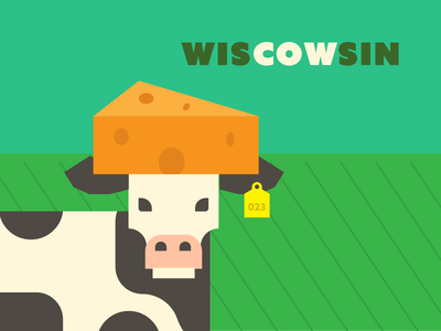 Wiscowsin midwest field wisconsin sin cow