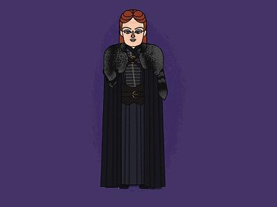 Sansa Stark character illustration got game of thrones sansa sark