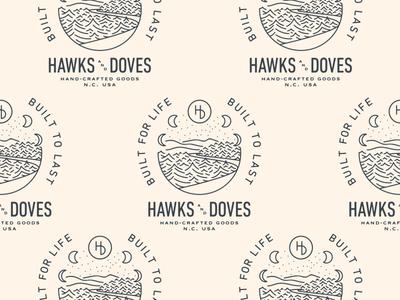 Hawks & Doves Illustration