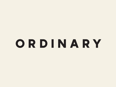 Ordinary Digital Brand technology investment venture capital coin approachable iconography wordmark digital visual identity branding