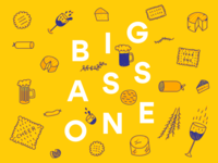 Big Ass One  - Event Invitation