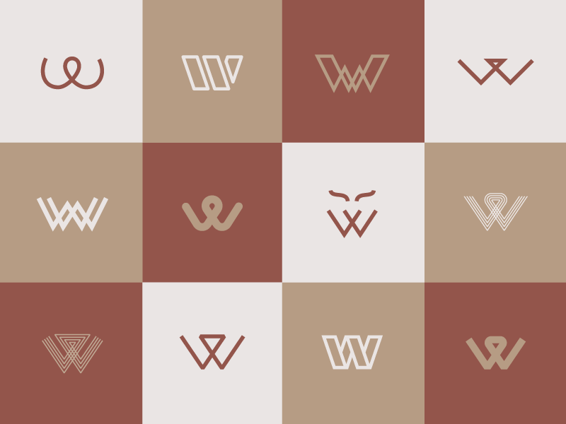 Wolfe logo exploration dribbble