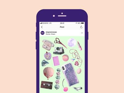 Momo Collage Social Content