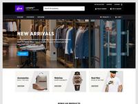 Shop - Landing Page