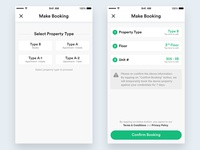 Property App - Make Booking