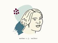 Madam C.J. Walker   Women Who Inspire