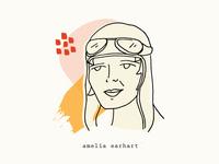 Amelia Earhart   Women Who Inspire