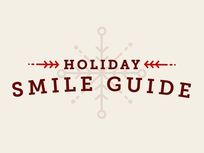 Holiday Smile Guide Title Treatment