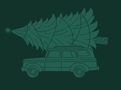 Christmas Caravan // Green