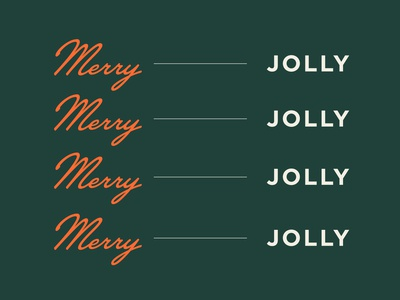 Merry + Jolly