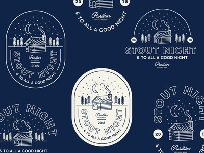 Stout Night Badges