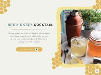 Bee's Knees Cocktail Recipe