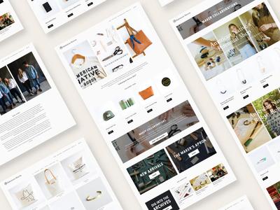 Web Design // American Native