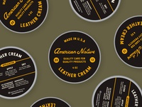 Leather Cream Packaging // 01