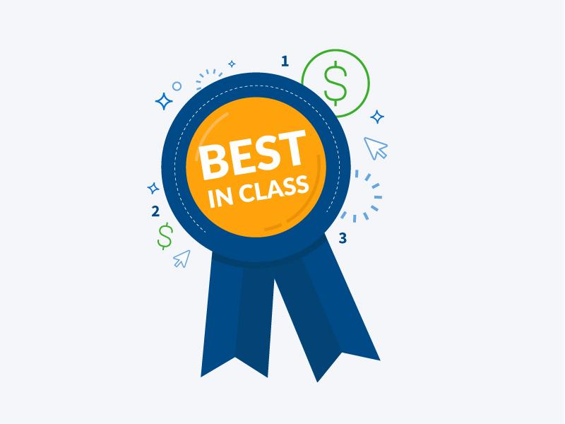 Best In Class // Infographic money cash infographic vector design illustration