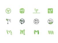 Microgreens Icons