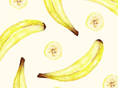 Banana Watercolors