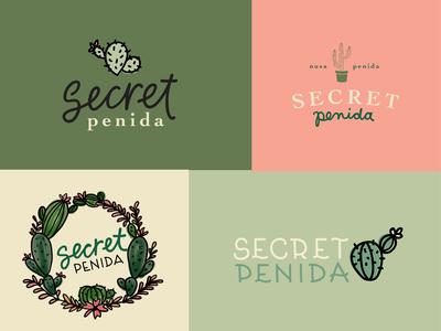 Secret Penida Logos