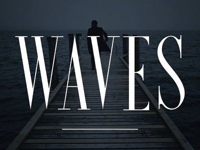 Waves - Ultra Condensed Serif retro vintage aged rough distressed label letterpress industrial clean textured serif