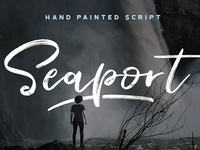 Seaport - A Hand Painted Script
