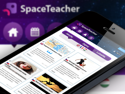 SpaceTeacher Web & Mobile mobile web startup meetups