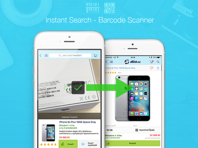 Search by Barcode iphone ios search qr barcode