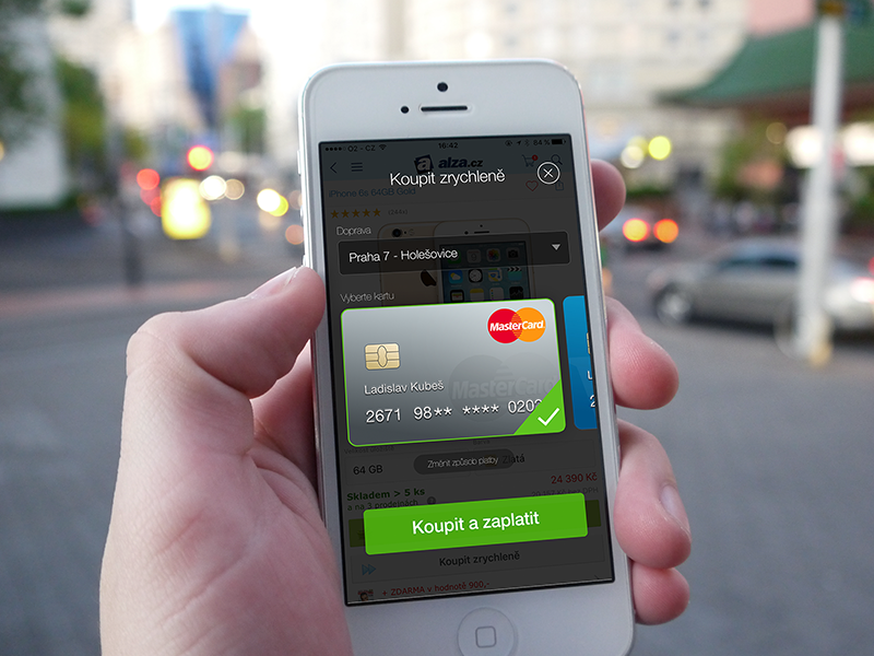 Fast Payment via Credit Card ios credit card payment