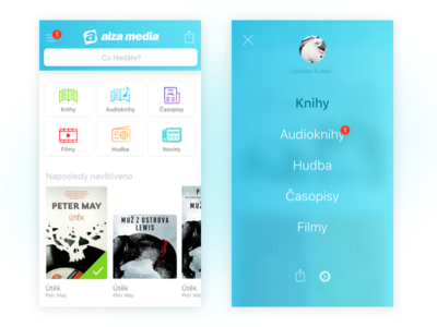 Alza Media New Fresh UI
