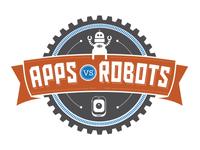 Apps vs Robots Logo