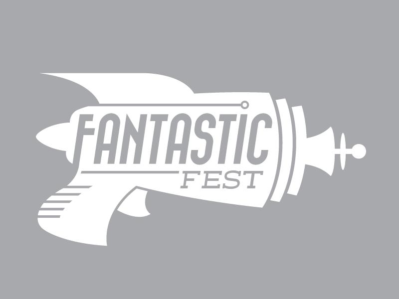 Fantastic Fest Logo logo identity flat fantasy horror retro futuristic fantastic fest ray gun sci-fi film festival