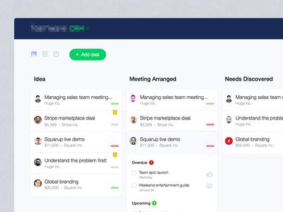 TeamWave - Pipeline UI