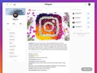 New Instagram meet Twitter! - Free .Sketch