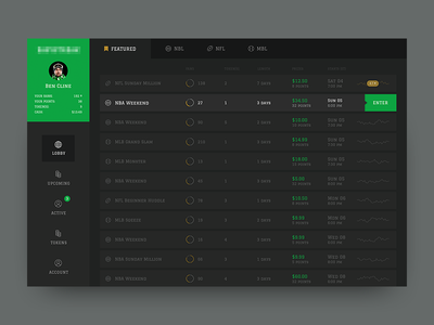 Dashboard: Where every fan can play! white stats statistics simple interface graphs black analytics ux ui dark dashboard