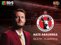 Nate Abaurrea for Club Tijuana