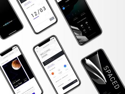 SPACED App Design