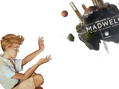 The Childlike Madwellian floating island composite illustration rockwell