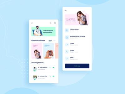 Doctor Consultant - Concept app