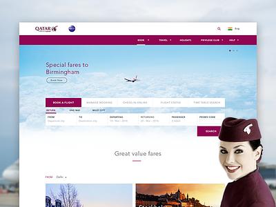 Qatar Airways Redesign flights airlines qatar airways